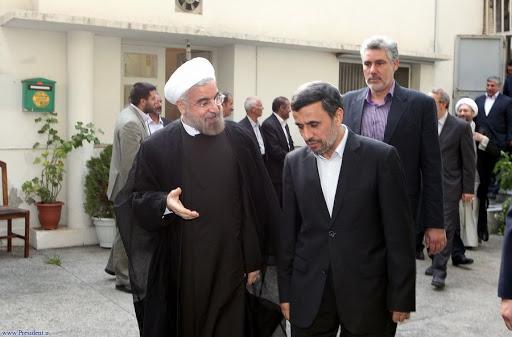 نامه اعتراضی احمدینژاد به روحانی