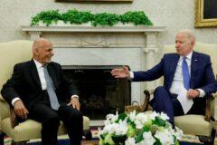 امریکا با حذف غنی به طالبان راه میدهد