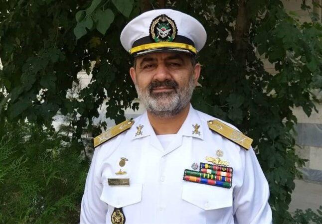 فرمانده جدید نیروی دریایی ارتش منصوب شد