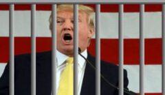فیلم| ترامپ قمارباز به زندان میرود!