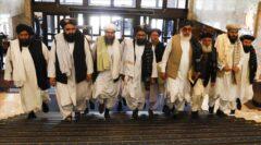 حضور طالبان در کنسولگری ایران در مزارشریف + فیلم