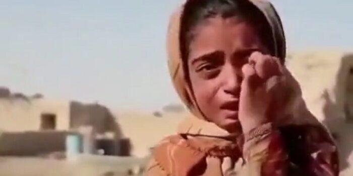 ماجرای ویدئوی دختربچه سیستانی که قلب ها را به درد آورد + ویدئو
