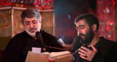 مداحی محمد رضا و حسین طاهری در شب دوم محرم ۱۴۰۰