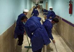 ۲۸ هزار نیروی بسیجی در کشور کنار کادر درمان هستند