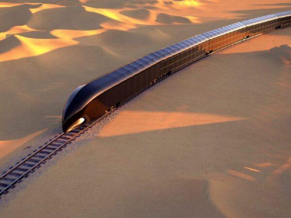 طراحی اولین قطار مجلل خصوصی توسط طراح قایق تفریحی استیو جابز