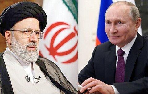 رئیسی و پوتین در باره افغانستان و برجام گفت وگو کردند