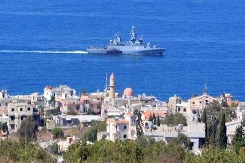 شناور نیروی دریایی رژیم صهیونیستی دچار آتش سوزی شد