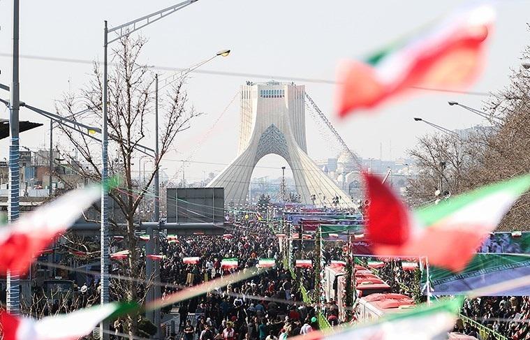 شکوه وحدت مردم در چهلمین سال پیروزی انقلاب اسلامی