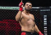 برتری امیر علیاکبری مقابل «قبر کَن» آمریکایی در مسابقات MMA