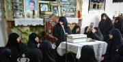 اولین زن بسیجی در قبله تهران