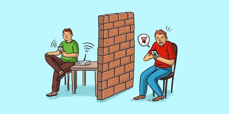 ۸ وسیله ای که باعث ضعیف شدن اینترنت مودم در خانه می شوند