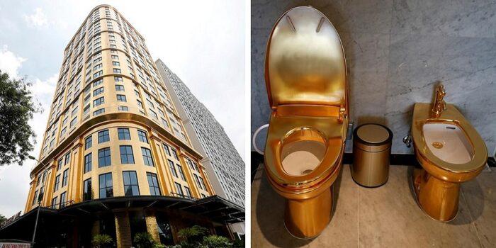 اولین هتل طلا دنیا در ویتنام افتتاح شد