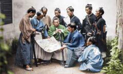 عکس هایی رنگی از سامورایی های ژاپنی