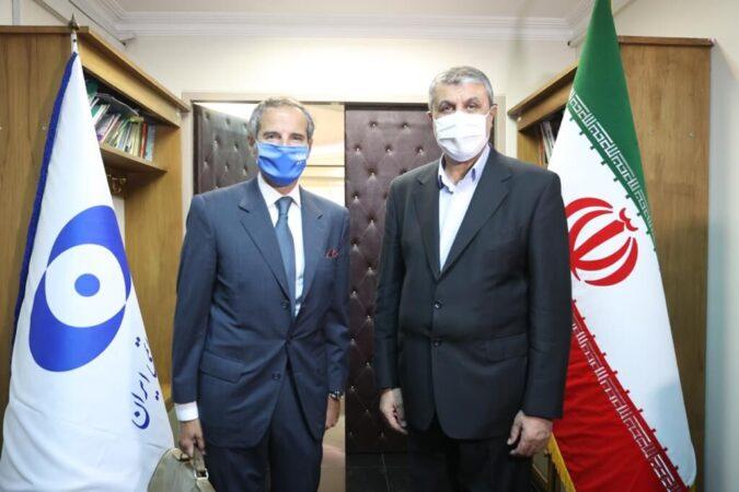 ایران مشتش را برای آژانس باز نکرد