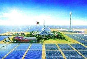 نیروگاه خورشیدی ۱۳٫۶ میلیارد دلاری در بیابان های دبی که در شب نیز برق تولید می کند