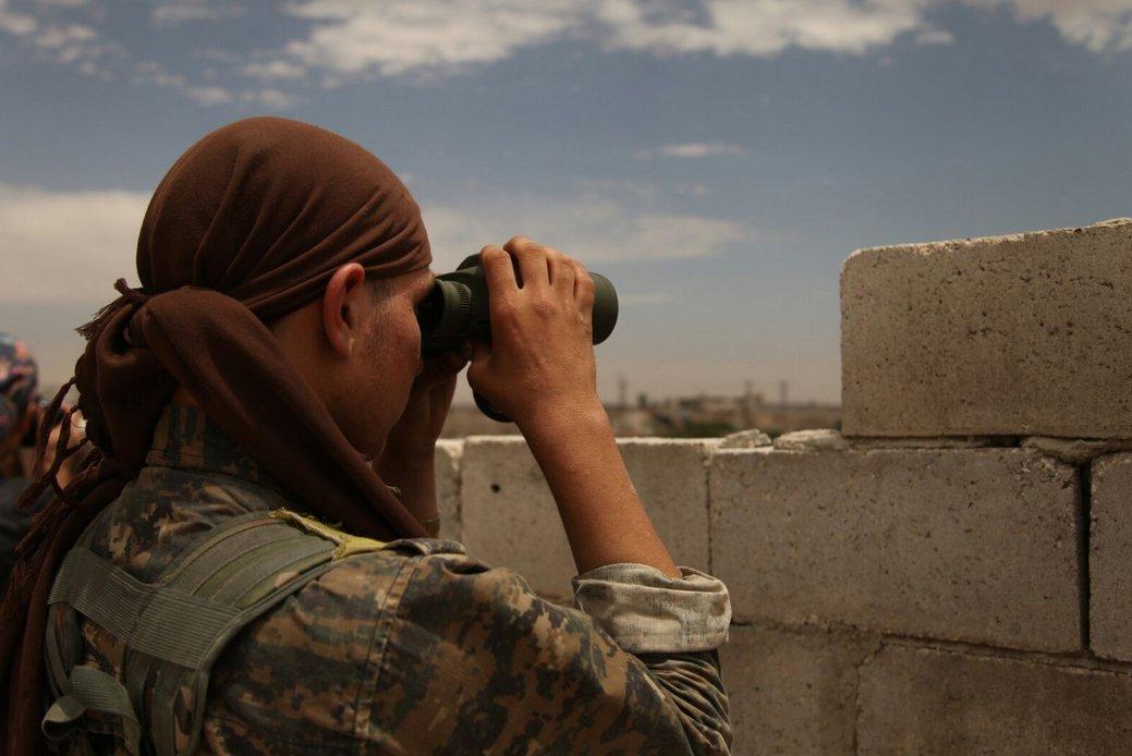 قلمرو داعش در سوریه به ۷۰۰ متر مربع رسیده است