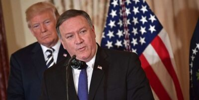 پمپئو: معافیتهای هستهای ایران پایان مییابد