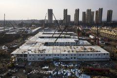 بیمارستان ۱۰۰۰ تختخوابی چین در ۱۰ روز ساخته شد