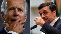 احمدی نژاد به جو بایدن نامه نوشت