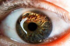 چشمها علائم طولانی کرونا را نشان میدهند