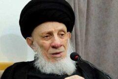 آیتالله سید محمدسعید حکیم درگذشت