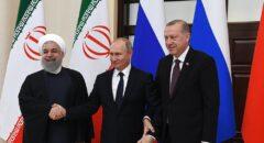 ایران، ترکیه و روسیه برحمایت از یک «سوریه مستقل» تأکید کردند