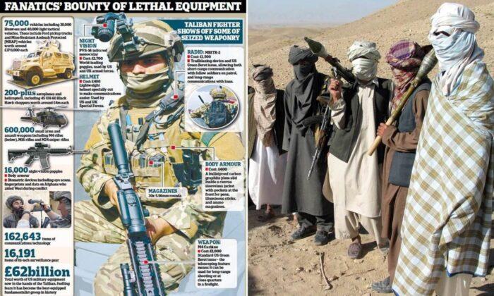 غنیمت ۸۵ میلیارد دلاری طالبان از آمریکا