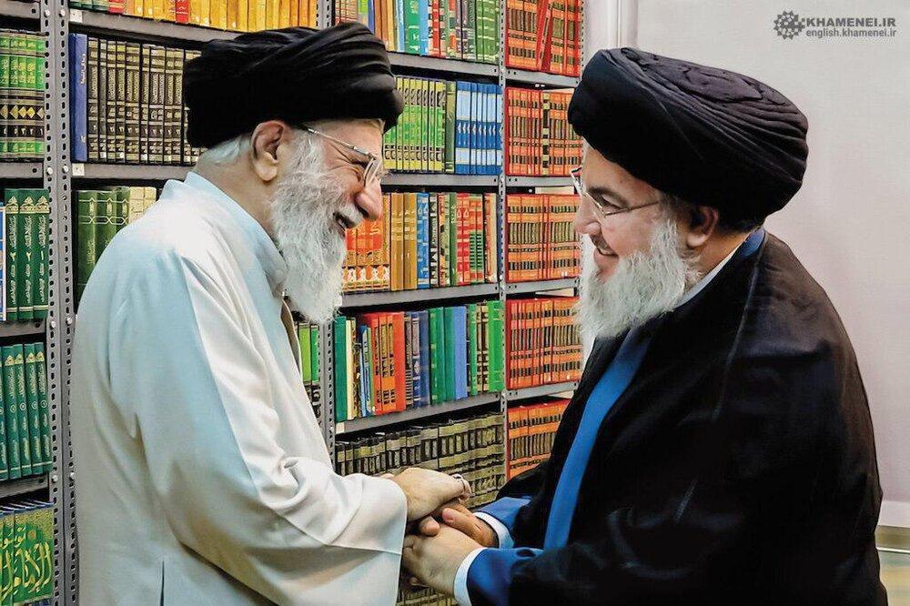 تصویری منتتشر نشده از رهبر انقلاب و سید حسن نصرالله