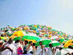 مکه مکرمه؛ قبله گاه مقدس مسلمانان و گرم ترین شهر جهان در قاب تصویر