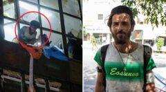 جوان دستفروشی که قهرمان حادثه کلینیک سینا شد+ ویدئو