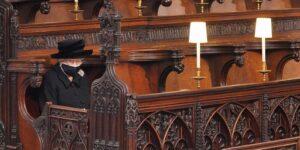 در مراسم خاکسپاری همسر ملکه انگلیس چه گذشت؟ + تصاویر