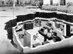 گشتی در خانه های آخرالزمانی ۲ میلیون پوندی مقاوم در برابر حملات هستهای و کووید