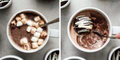 طرز تهیه بمب شکلات داغ