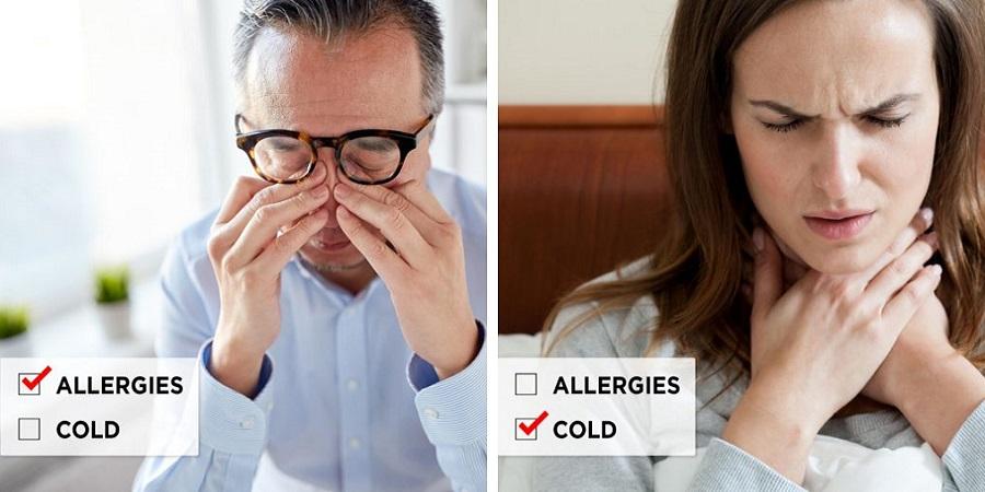 آلرژی یا سرماخوردگی؟ چطور از هم تشخیص شان دهیم؟