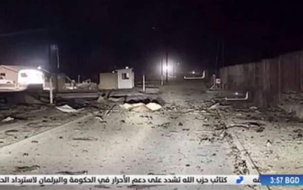 تصاویر CNN از ویرانی پایگاه آمریکایی عین الاسد