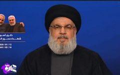 فیلم/نصرالله: ایران موشکهای پیشرفتهتر دارد