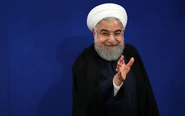 پاس گل روحانی به سخنگوی وزارت خارجه آمریکا