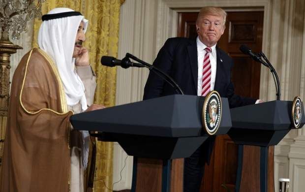 دستور ترامپ برای کشتن امیر کویت