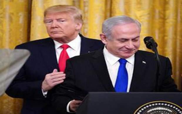 نتانیاهو، ترامپ را به سطل زباله انداخت