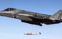 آمریکا پرتاب بمب هستهای با جنگنده اف-۳۵ را تمرین کرد+فیلم