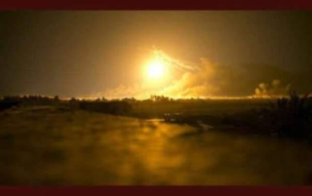 انفجار و آتش سوزی در میادین بزرگ نفتی امارات