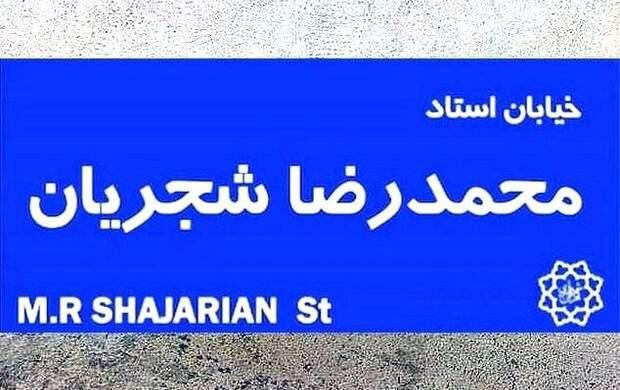 نامگذاری هیچ خیابانی به نام شجریان قانونی نیست