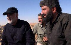فیلم کامل نگرانیِ «آقای اصغر» برای حاج قاسم در خط مقدم