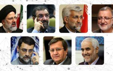 برنامه های تبلیغاتی کاندیداها در رسانه ملی مشخص شد +جدول