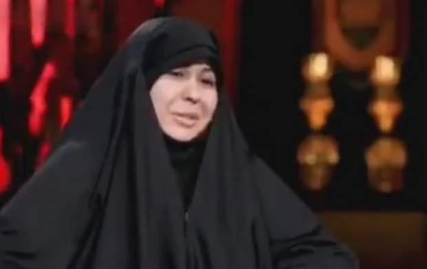 بشیر حسینی دست همسرش را بوسید +فیلم