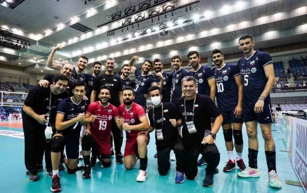 تیم ملی والیبال ایران مقتدرانه قهرمان آسیا شد