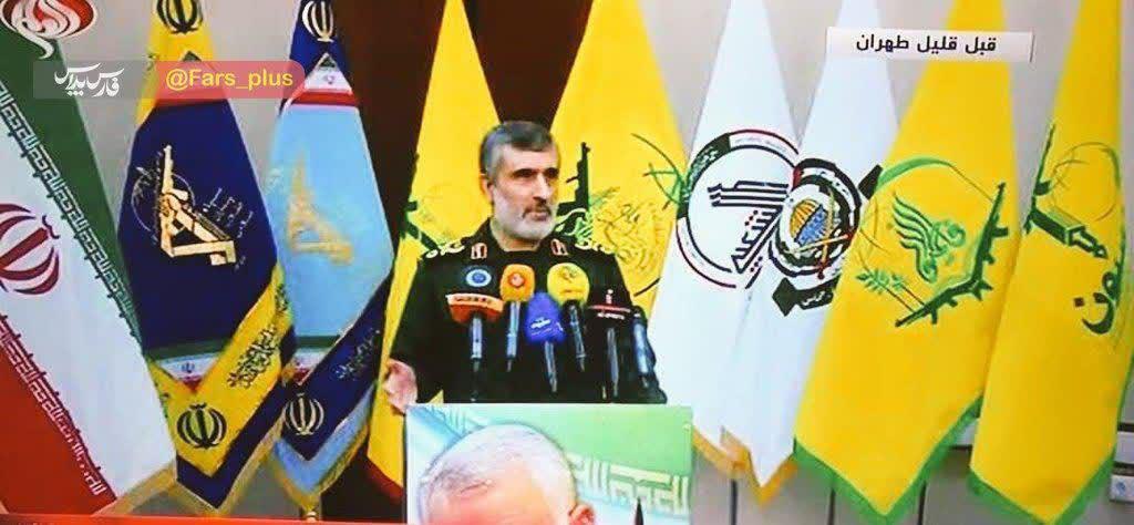 اقدام بیسابقه در هنگام سخنرانی سردار حاجیزاده