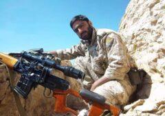 دوئل رضا با تکتیرانداز داعشی، نگذاشت زمینگیر شویم