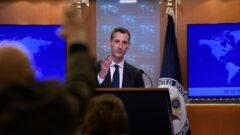 واکنش وزارت خارجه آمریکا به رای دادگاه لاهه به نفع ایران