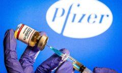 فلج شدن صورت ۴ شرکت کننده آزمایش واکسن کرونا فایزر